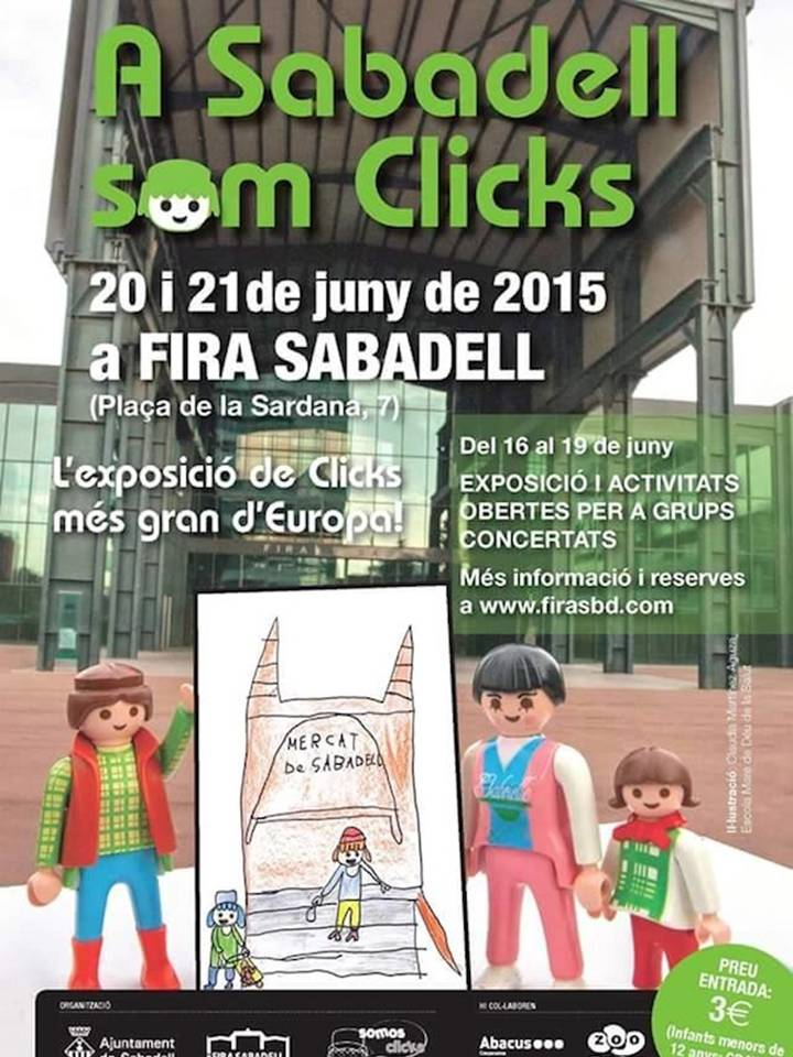 Fira dels clicks a Sabadell